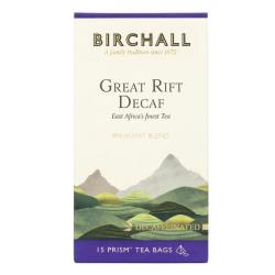 Birchall Great Rift Decaf Prism Tea Bags 6X15 Packs