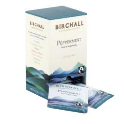 Birchall Peppermint Enveloped Tea Bags 1x25