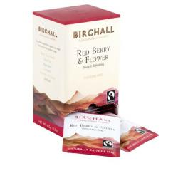 Birchall Red Berry & Flower Enveloped Tea Bags 1x25