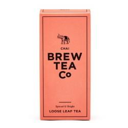 Brew Tea Co . Chai Tea Loose Leaf Tea