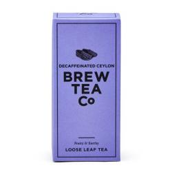 Brew Tea  Co . Decaffeinated Ceylon Loose Leaf Tea
