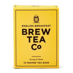 Brew Tea Co. English Breakfast Proper Tea Bags