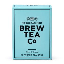 Brew Tea Co. Moroccan Mint Proper Tea Bags 1x15