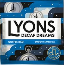 Lyons Decaff Dreams Coffee Bags
