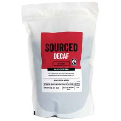 Sourced Decaf Fairtrade Coffee Beans 500g
