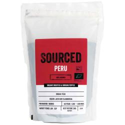 Sourced Peru Organic Ground Coffee 250g