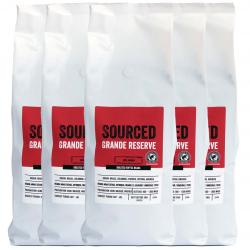 Sourced Grande Reserve Rainforest Alliance Coffee Beans 6x1kg