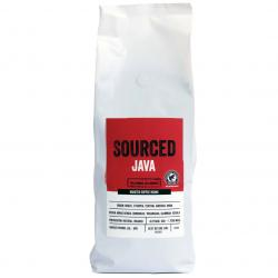 Sourced Java Rainforest Alliance Coffee Beans 1kg