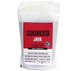 Sourced Java Ground Rainforest Alliance Coffee 250g