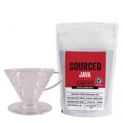 Sourced Rainforest Alliance Java and V60 Starter Kit
