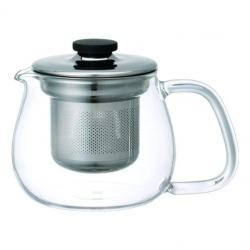 kinto unitea teapot set small stainless steel