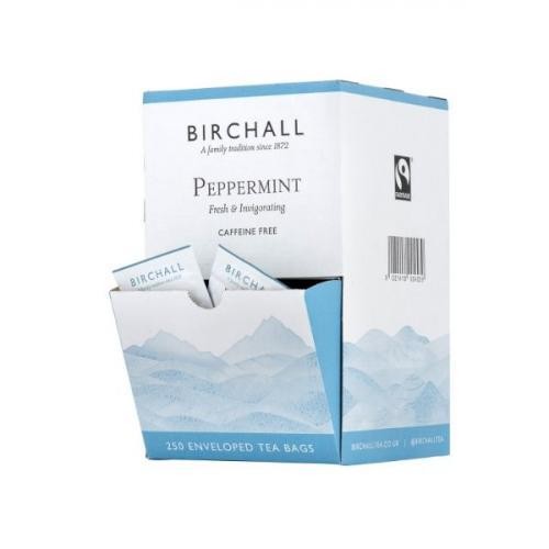 Birchall Peppermint Enveloped Tea Bags 1x250