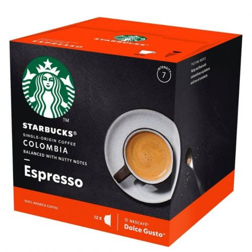 NESCAFÉ® Dolce Gusto® Starbucks® Colombia Medium Roast Espresso Coffee