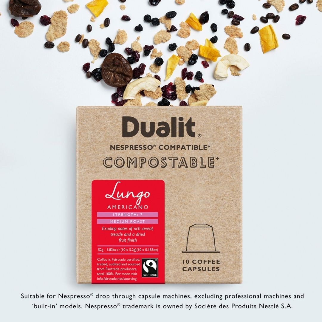 New to Sourced – Dualit Nespresso Compatible Pods.