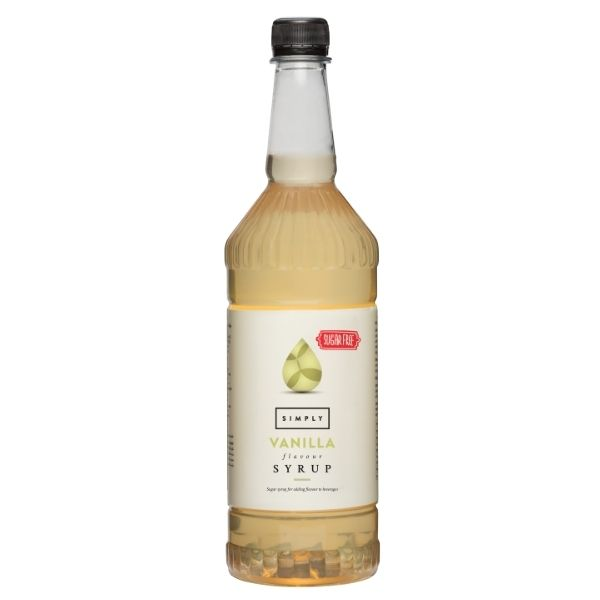 Simply Sugar Free Vanilla Syrup | IBC Simply